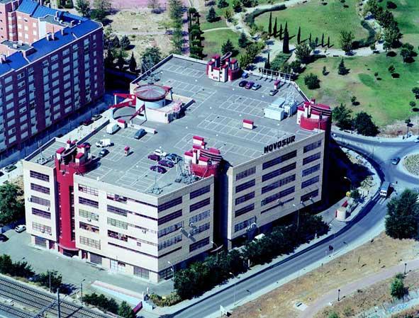 edificio de oficinas de Novosur en Madrid
